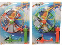 Simba Flying Zone Licht Propeller Flugspiel 1 Stueck sortiert