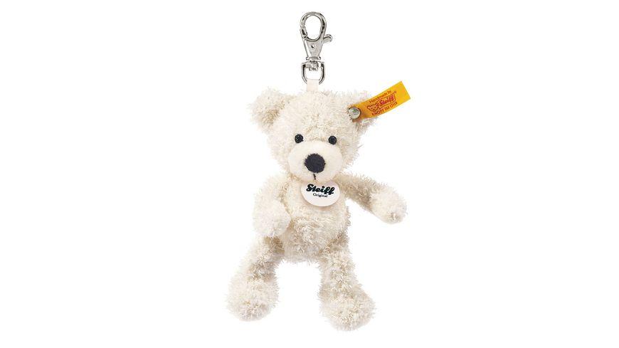Steiff Teddybaeren Teddybaeren fuer Kinder Schluesselanhaenger Lotte Teddybaer weiss 12cm
