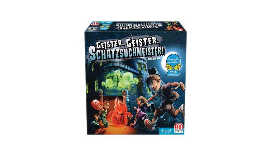 Mattel Games Geister Geister Schatzsuchmeister