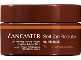 LANCASTER Self Tan Beauty Self Tanning Melting Delight Sublime Intense Glow