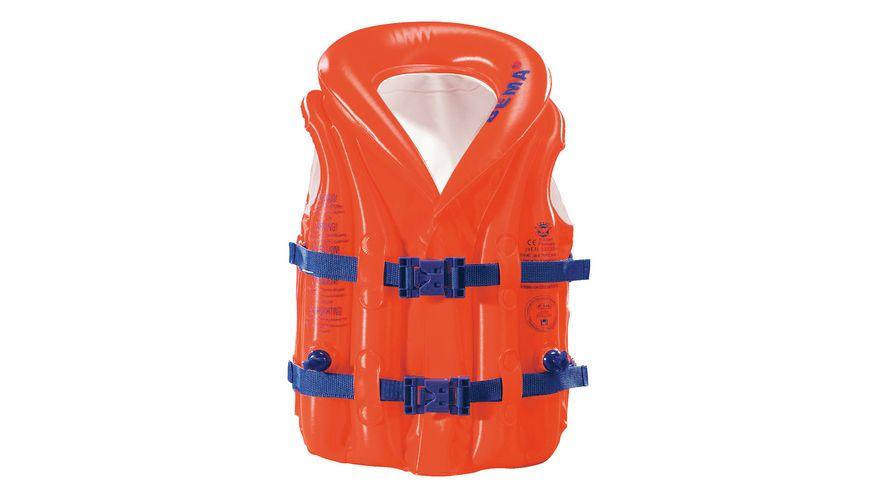 Schwimmweste mit Kragen bis 18 kg