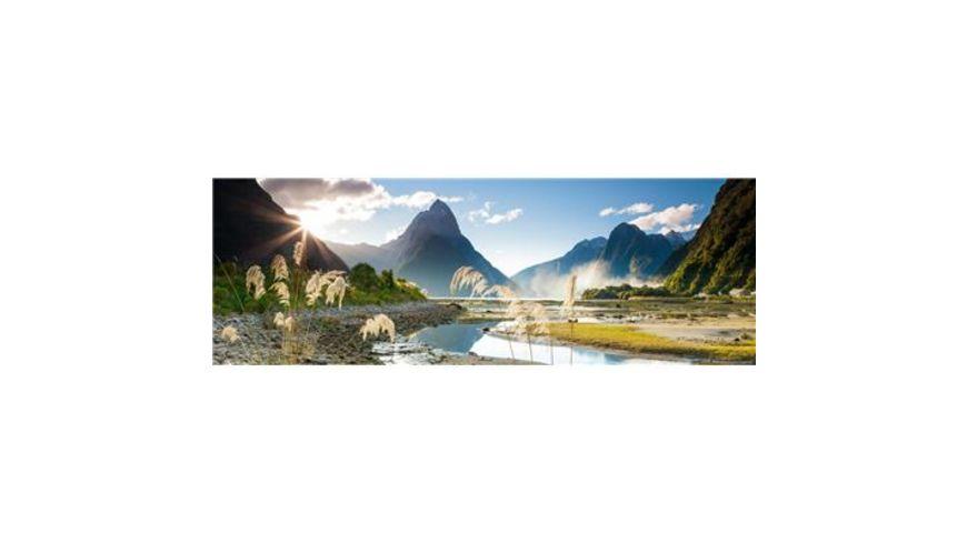 Heye Panoramapuzzle 1000 Teile Alexander von Humboldt Milford Sound