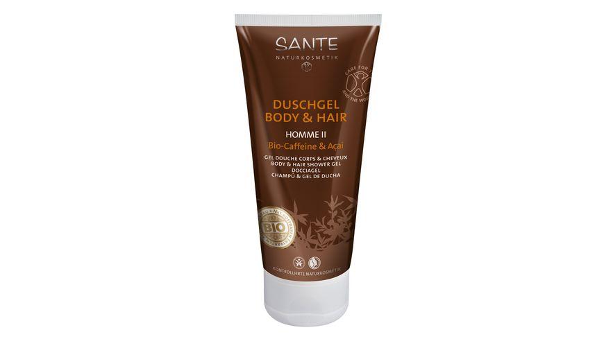 SANTE Homme II Duschgel Body Hair Bio Coffeine Acai