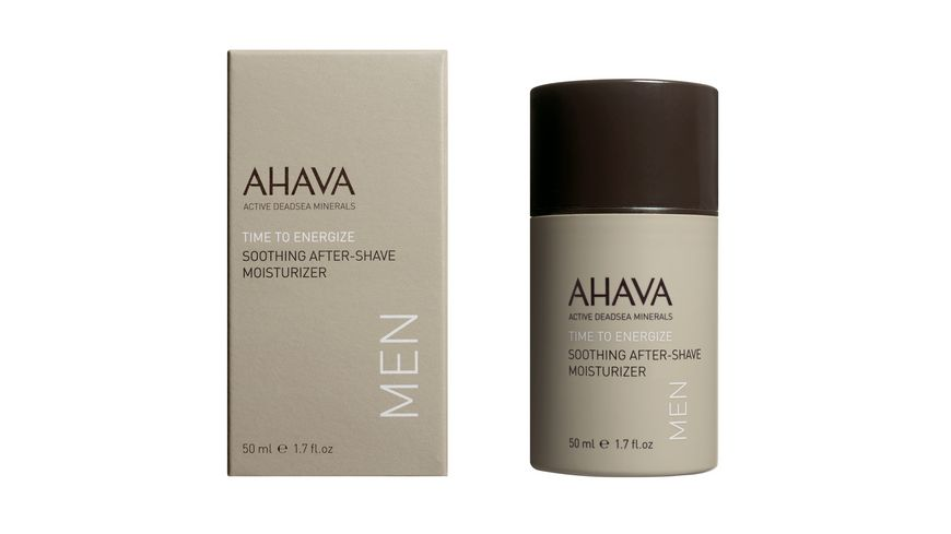AHAVA MEN Soothing After-Shave Moisturizer