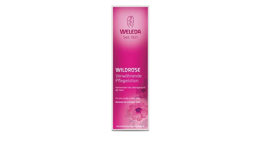 WELEDA Wildrose Verwoehnende Pflegelotion