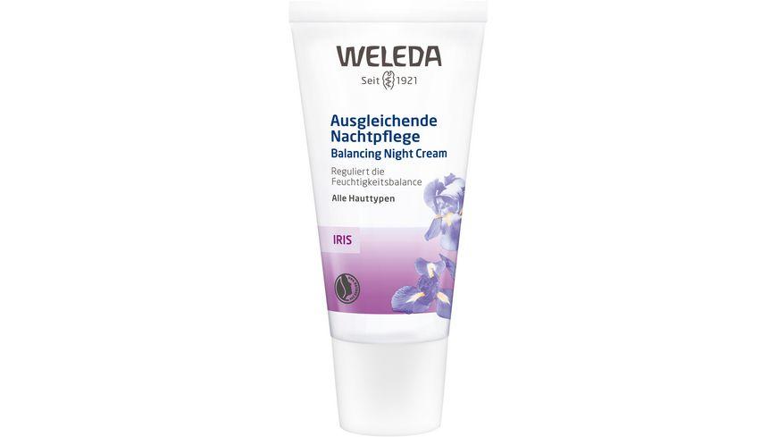 WELEDA Iris Ausgleichende Nachtpflege