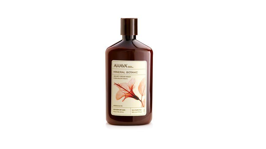 AHAVA Velvet Cream Wash Hibiskus Feige