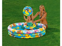 Intex Pool Set 3 Ring Fishbowl 132x28cm