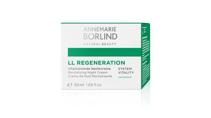 ANNEMARIE BOeRLIND LL REGENERATION Vitalisierende Nachtcreme