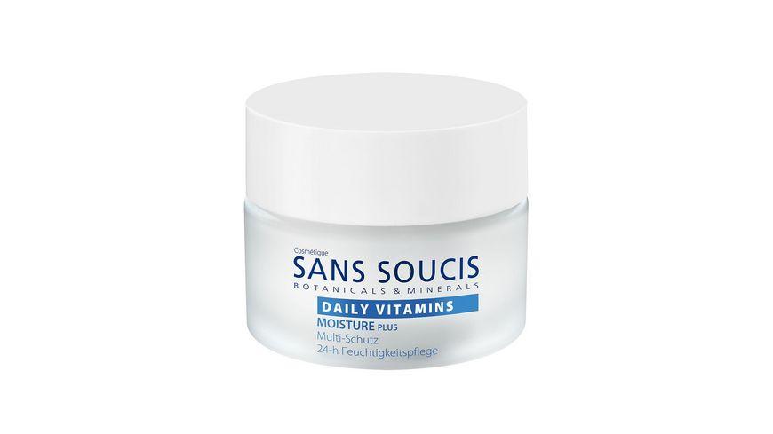 SANS SOUCIS Daily Vitamins Moisture Plus Multi schutz 24 h Feuchtigkeitspflege