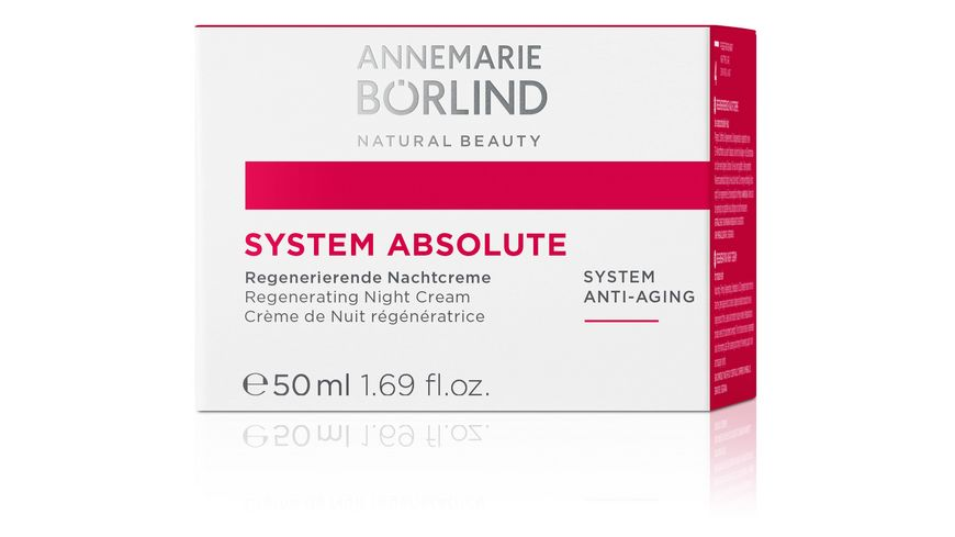 ANNEMARIE BOeRLIND Anti Aging System Absolute Nachtcreme
