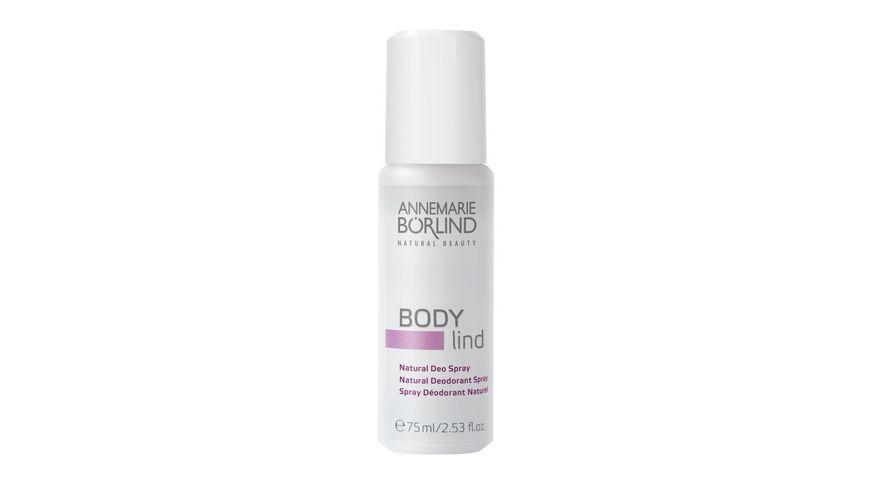 ANNEMARIE BOeRLIND Body Lind Natural Deo Spray