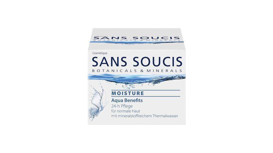 SANS SOUCIS Moisture Aqua Benefits 24 h Pflege