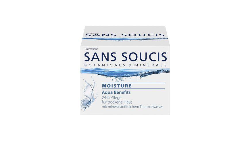 SANS SOUCIS Moisture Aqua Benefits 24 h Pflege fuer trockene Haut