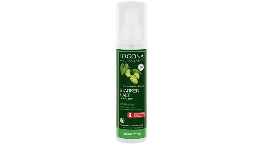 LOGONA Haarspray Bio Hopfen
