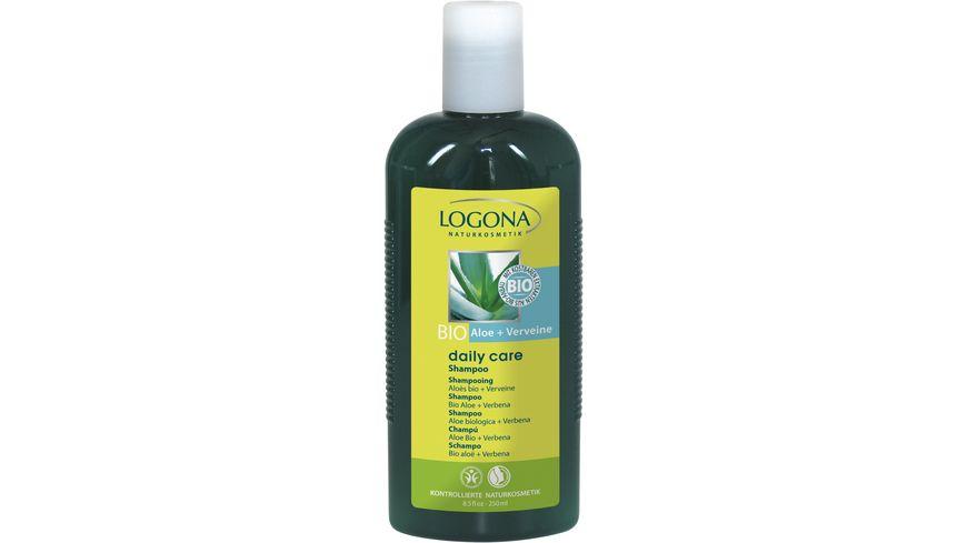 LOGONA Daily Care Shampoo Bio Aloe Verveine