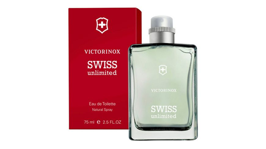 VICTORINOX Swiss Unlimited Eau de Toilette Glas Version
