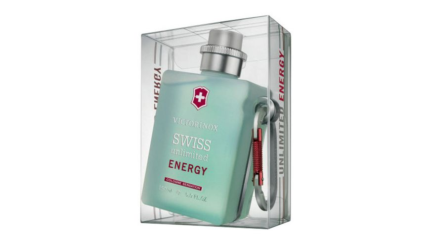 VICTORINOX Swiss Unlimited Energy Eau de Cologne