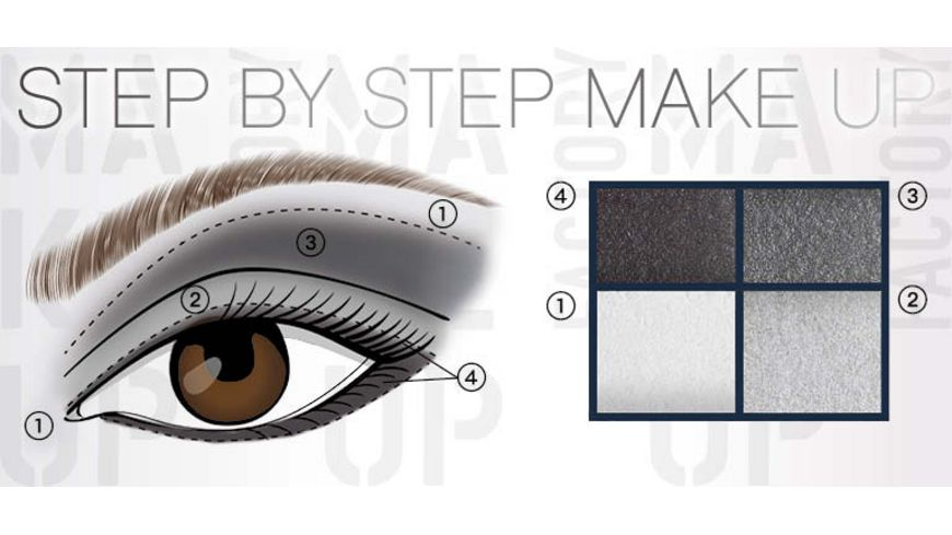 MAKE UP FACTORY Eye Colors