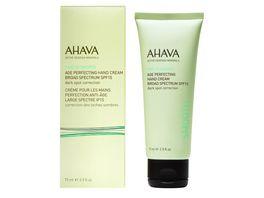 AHAVA Age Perfecting Hand Cream Broad Spectrum SPF 15 Dark Spot Correction