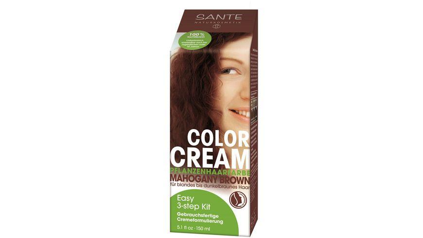 SANTE Pflanzen Haarfarben Color Creme Mahagony Brown