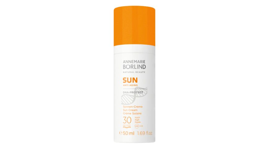 ANNEMARIE BOeRLIND Sun Anti Aging Sonnen Creme DNA Protect LSF 30