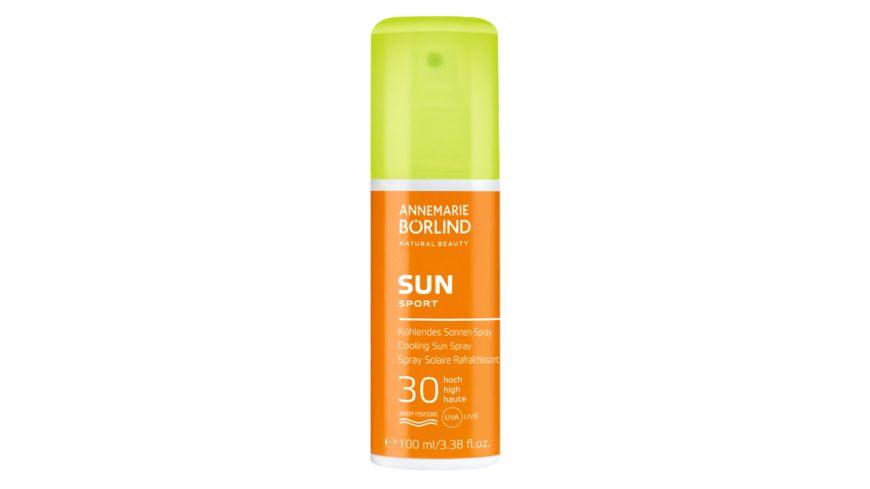 ANNEMARIE BOeRLIND SUN CARE Kuehlendes Sonnenspray LSF 30