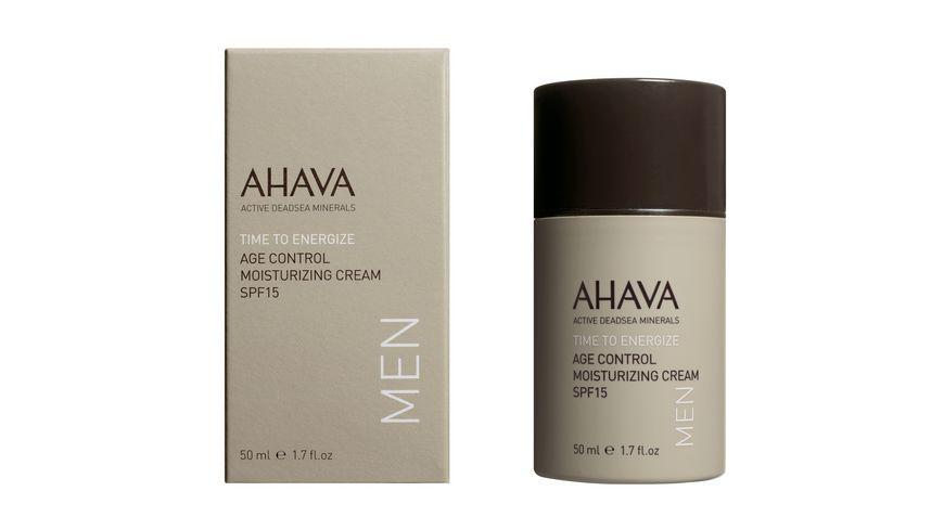 AHAVA MEN Age Control Moisturizing Cream SPF 15