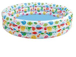 Intex Pool 3 Ring Color splash 168x41x53 cm