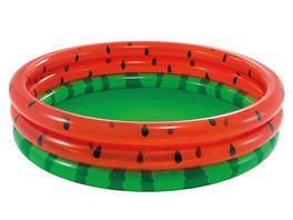 Intex Pool 3 Ring Wassermelone 168 x 38 cm