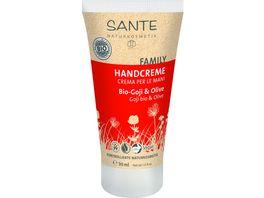 SANTE Handcreme Bio Goji Olive