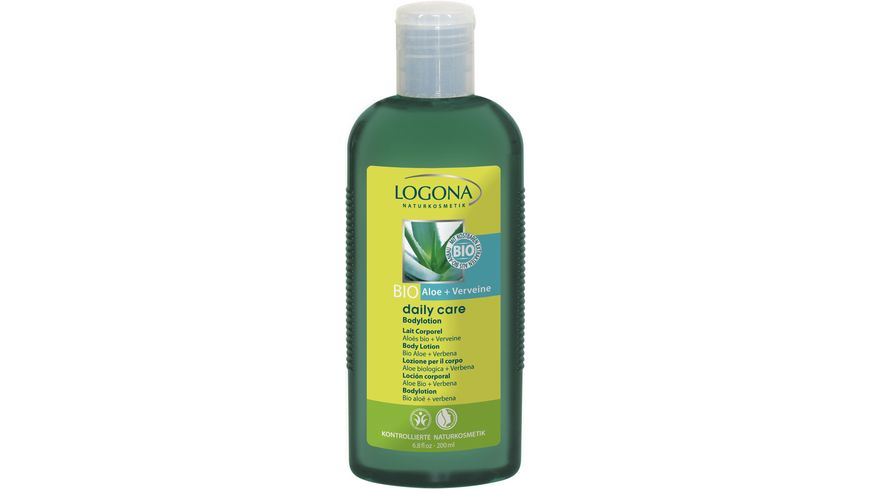 LOGONA Daily Care Bodylotion Bio Aloe Verveine