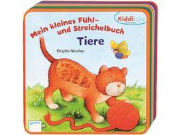 Buch ARENA Mein kleines Fuehl und Streichelbuch Tiere
