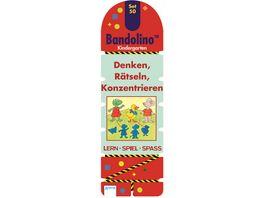Buch ARENA Bandolino Set 50 Denken Raetseln Konzentrieren