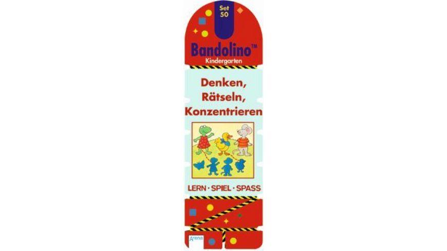Bandolino Set 50 Denken Raetseln Konzentrieren