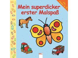Buch ARENA Mein superdicker erster Malspass