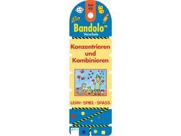Buch ARENA Bandolo Set 45 Vorschule Konzentrieren und Kombinieren