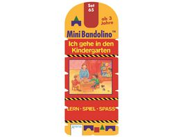 Mini Bandolino Set 65 Ich gehe in den Kindergarten