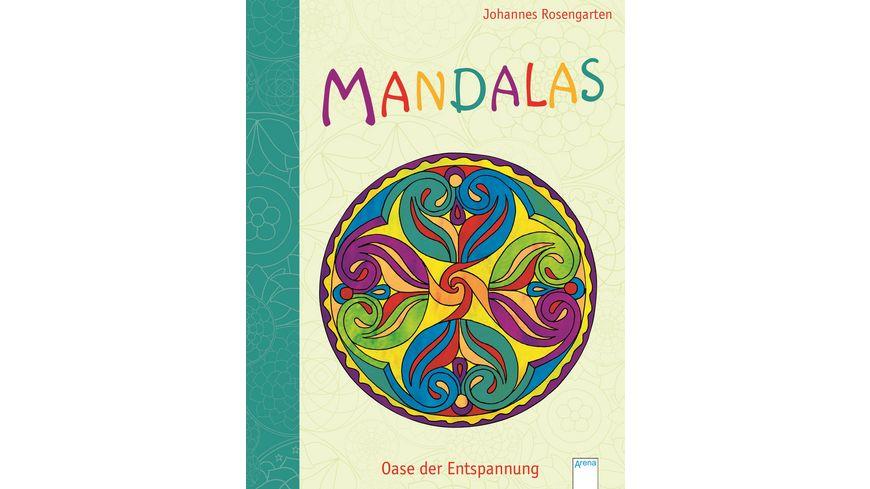 Buch ARENA Mandalas Oasen der Entspannung