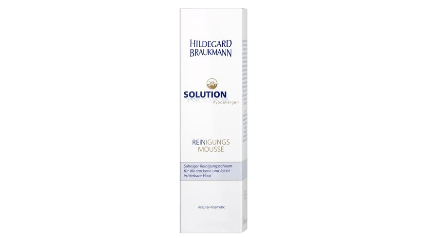 HILDEGARD BRAUKMANN 24h Solution Reinigungs Mousse