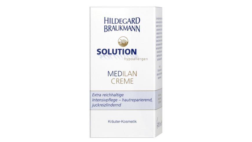 HILDEGARD BRAUKMANN 24h Solution Medilan Creme