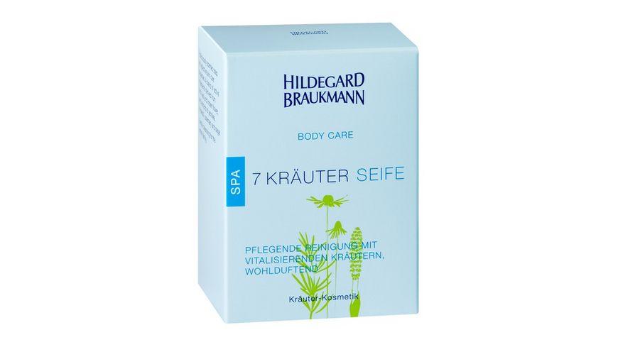 HILDEGARD BRAUKMANN Body Care 7 Kraeuter Seife