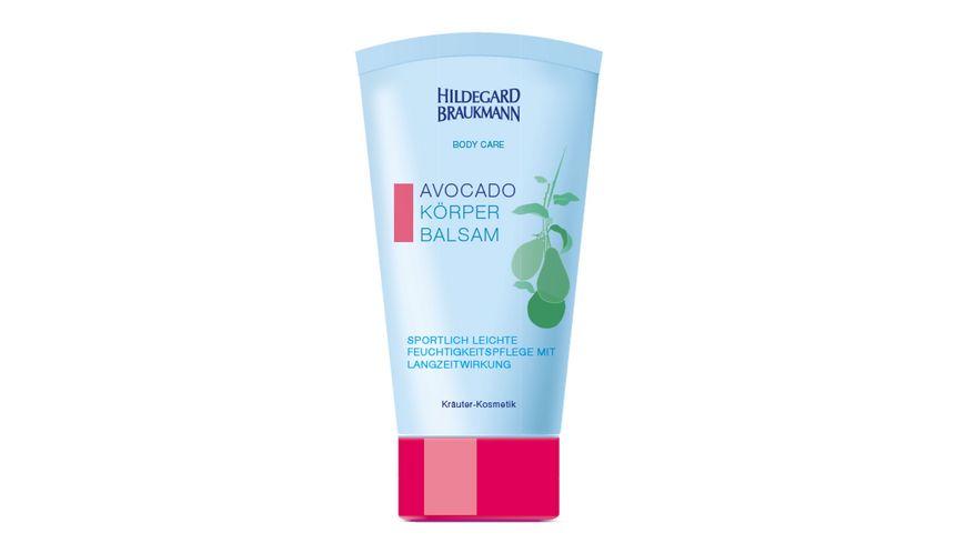 HILDEGARD BRAUKMANN Body Care Avocado Koerper Balsam