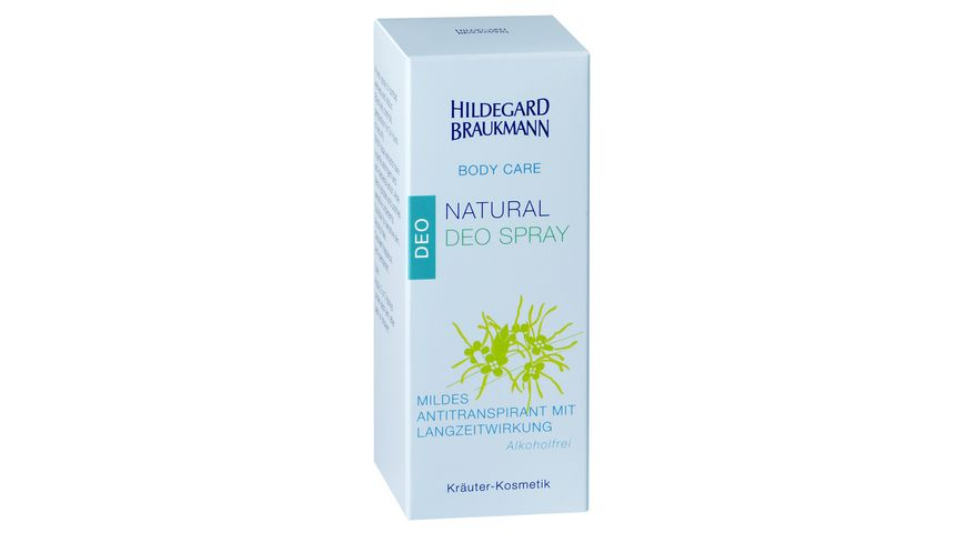HILDEGARD BRAUKMANN Body Care Natural Deo Spray