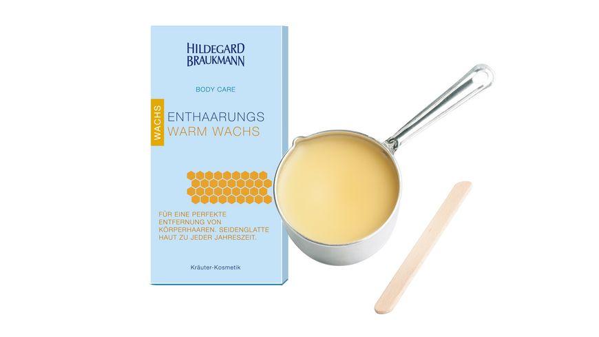 HILDEGARD BRAUKMANN Body Care Enthaarungs Warm Wachs