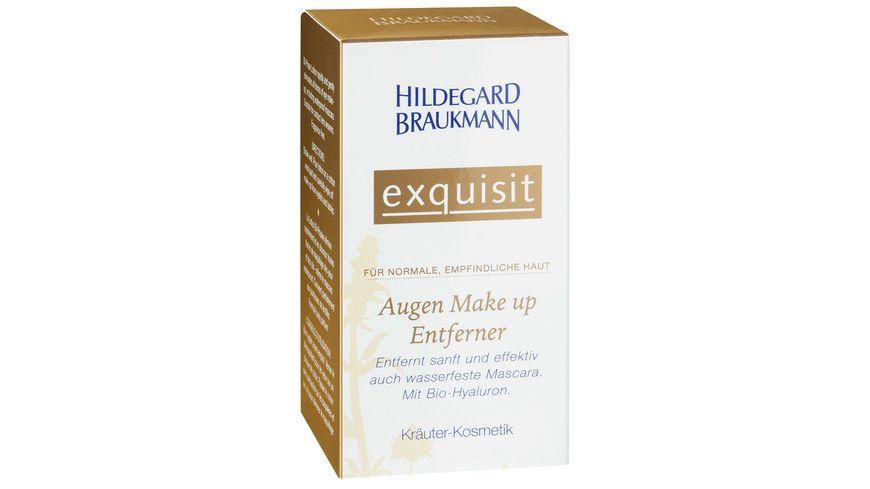 HILDEGARD BRAUKMANN Kosmetik Exquisit Augen Make up Entferner