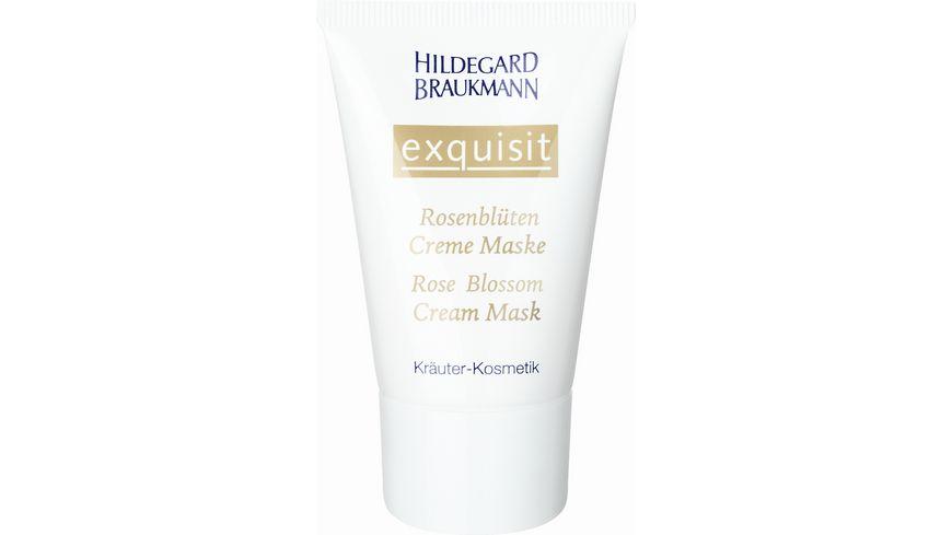 HILDEGARD BRAUKMANN exquisit Rosenblueten Creme Maske