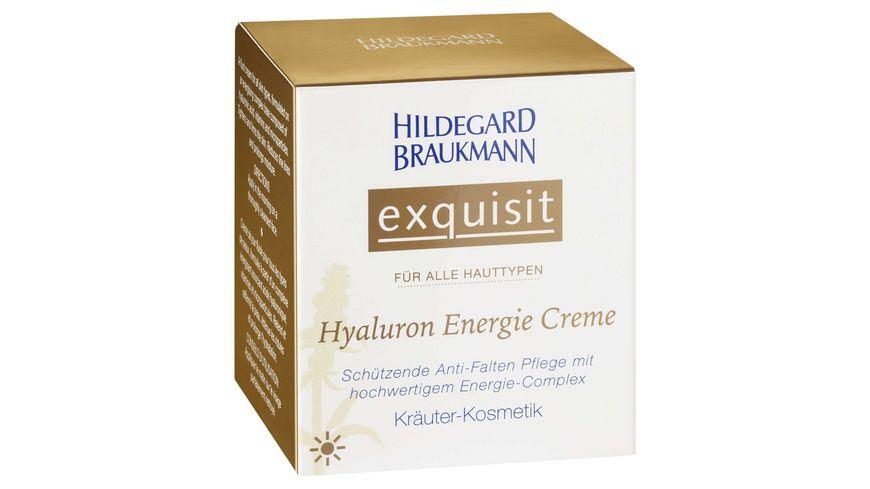 HILDEGARD BRAUKMANN exquisit Hyaluron Energie Creme