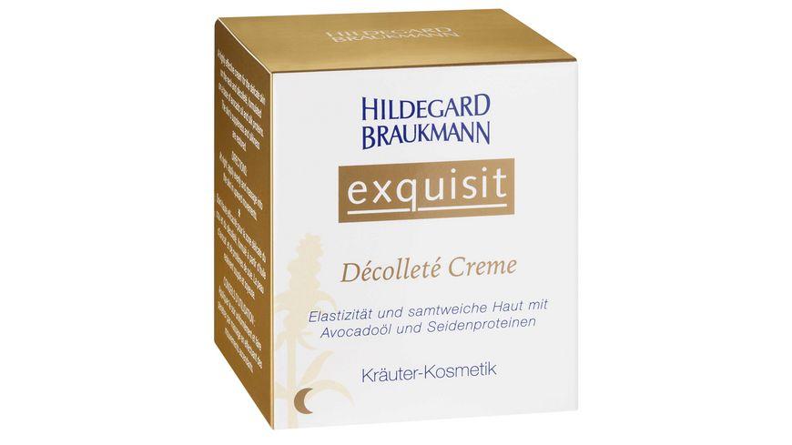HILDEGARD BRAUKMANN exquisit Decollete Creme