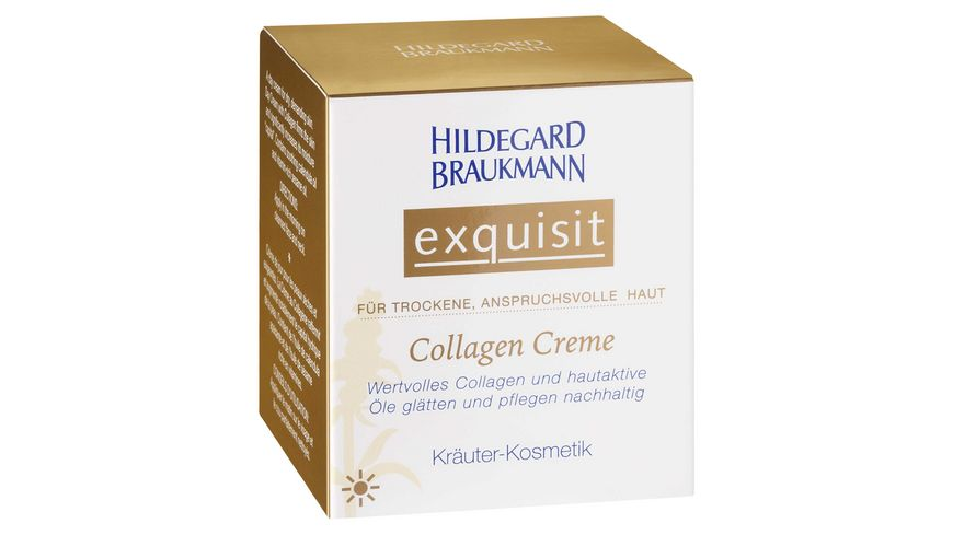 HILDEGARD BRAUKMANN exquisit Collagen Creme